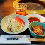焼肉なんざん - サラダ&キムチ [Aセット]