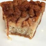 ファブカフェ - 林檎のクランブルタルトの断面