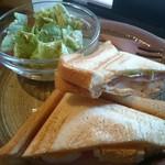 珈琲屋gufo - ホットサンド&サラダ