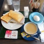 日本料理 紫水 - モーニングセット390円