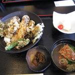 7441949 - かき丼膳(味噌汁つき)