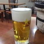 はせ川 - 生ビール