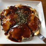お好み焼き えなみ - お好み焼き豚玉+海鮮