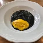 カラパン - pranzoBの前菜②イカの墨煮   イカ、プリップリ♪