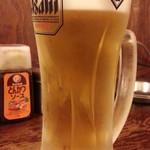 本物のやきとん 筑前屋 - 生ビールはスーパードライ通常490円が199円!