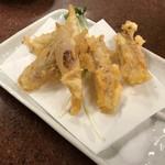 三ちゃん食堂 - 五郎も食べたミョウガの天ぷら