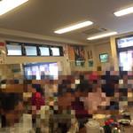 三ちゃん食堂 - 開店直後の活気