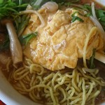 中華料理 八戒 - 分厚い卵焼き