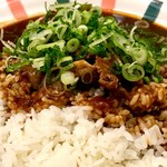 カレーハウスピヨ - 牛筋葱カレー