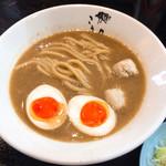 縁道 - ラーメン(太麺)