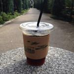 ダモ コーヒー ハウス - テイクアウトのアイスコーヒー(税込340円)