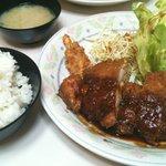 ちじわ - チキンカツ定食