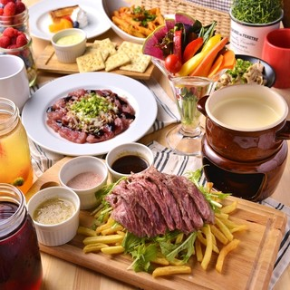 お肉で会社宴会♪幹事様必見宴会特典も多数ご用意しております!