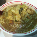 蒙古タンメン中本 - 味噌タンメン(3辛)780円