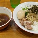74421434 - マゼソバ(スープ付き)750円+味玉100円