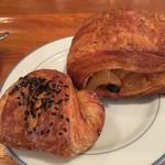 ラ ベルコリーヌ - 料理写真:マロンパイとダノワーズポム