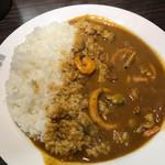 Kokoichibanya - 海の幸カレー:辛さ1