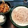 ゆで太郎 - 料理写真:ゆで太郎@鶴ヶ峰店 小柱と水菜のかきあげ丼セット(580円)