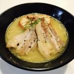 麺画廊 英 - 地鶏白湯 期間限定