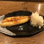 いそ舟 - 塩サバ焼、400円(税別)