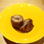 一碗水 - 栗の渋皮煮 桂花風味