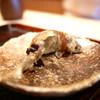 緒方 - 料理写真:天然鮎の天ぷら 実山椒タレ