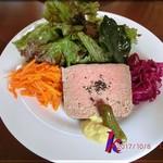 エスプリ - 前菜・田舎風肉のパテ