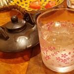 鹿児島郷土料理 おはん - たっぷり入った焼酎