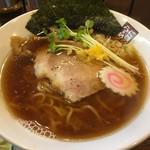 玉五郎 - 秋刀魚煮干しらーめん