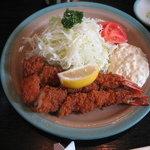とんかつ井泉 - エビフライ定食