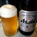 らーめん・つけ麺 よろしく - 瓶ビール(^^♪