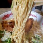 らーめん・つけ麺 よろしく - 麺リフト~♪