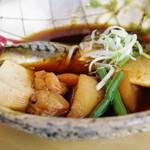 五穀 - 料理写真:さばの紀州煮定食