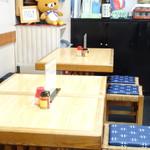 大陣庵 - 内観-テーブル席