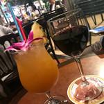 アロハテーブル - 飲み放題④フラガール、赤ワイン