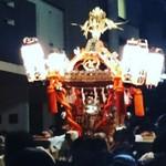ベーカーバウンス - 太子堂祭りの夜神輿に遭遇(^○^)♪