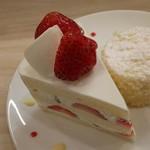 ラ・センサスィオン - 苺のショートケーキ