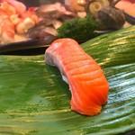 石松寿司 - 2017年10月 サーモン