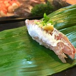 石松寿司 - 2017年10月 鯵