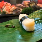 石松寿司 - 2017年10月 帆立