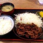 とんかつ 麻釉 - 料理写真:牛焼肉定食