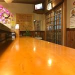 石松寿司 - 2017年10月 店内