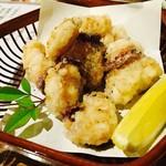 鮨Dining 朋や - 生タコの唐揚げ