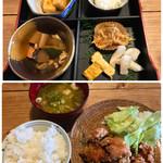 せのもと茶屋 - 料理写真:からあげ定食 1100円