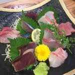 丸秀鮮魚店 - 刺身盛り