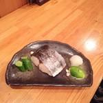 うおしま・大黒丸 - さわらの塩焼き