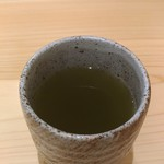 鮨 うら山 - お茶