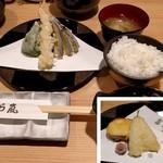 天ぷら 嵐 - 料理写真:日替り定食(880円)