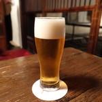 膳處漢ぽっちり - ☆泡のキメが細かい生ビール(●^o^●)☆