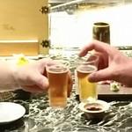 魚貝三昧 げん屋 - マイレビ様とまずはビールで乾杯です♪